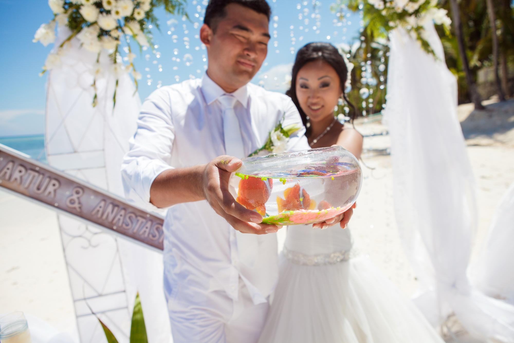 Sun wedding